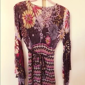 Authentic Missoni Silk flower dress